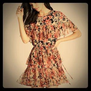 NEW:  Lucky Brand floral flutter dress
